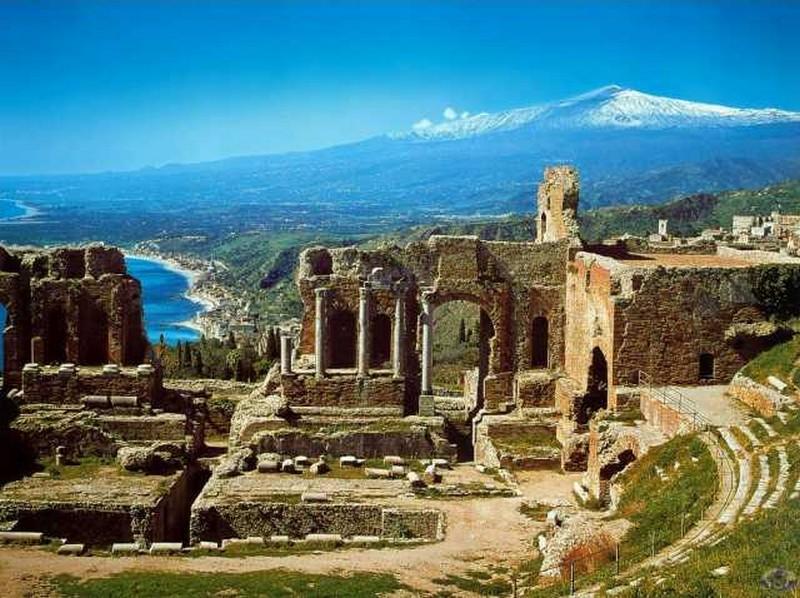 Sicílie – ostrov slunce sbohatou historií
